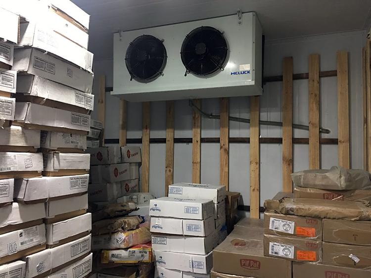 dàn lạnh sử dụng cho kho trữ đông