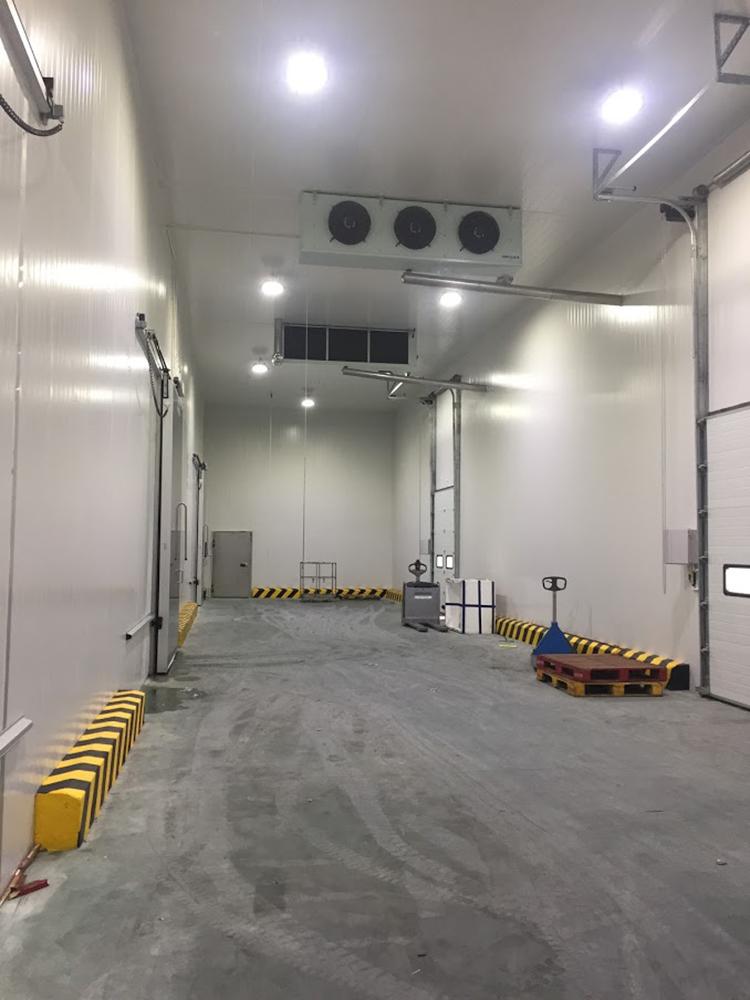 Phòng đệm kho lạnh công nghiệp - Nhiệt độ -5 ~ +5 độ C